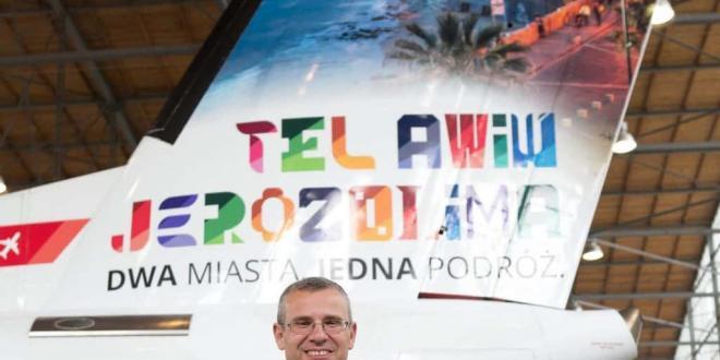 מיזם יוצא דופן: פרסומת ליעדי תיירות בישראל בשמי פולין