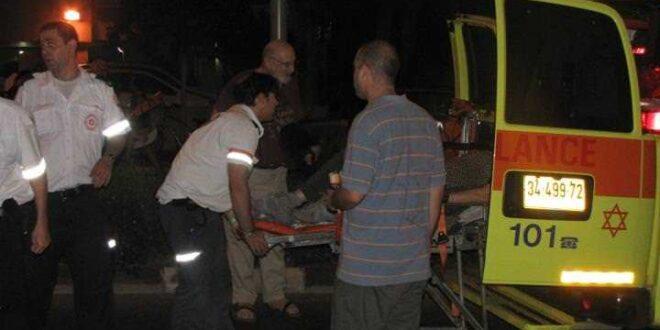 בן 35 נפצע בינוני מדקירות בשדרות בני ברית באשדוד