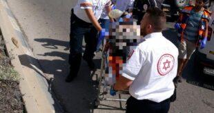 רוכב אופניים חשמליים בן 60 התהפך בכניסה לגן יבנה ונפצע קשה