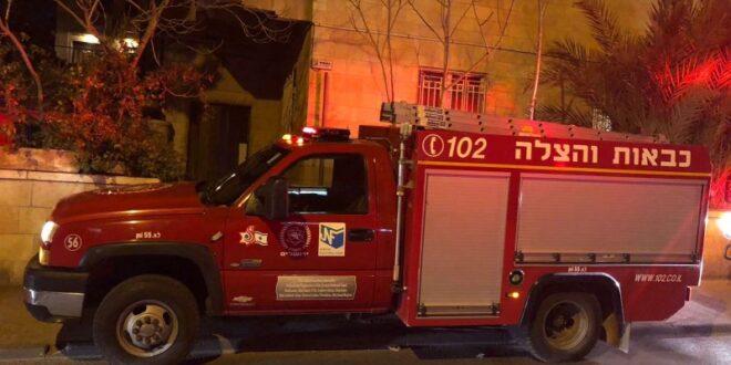 טרם הושגה שליטה על השריפה בגבעת שאול בירושלים