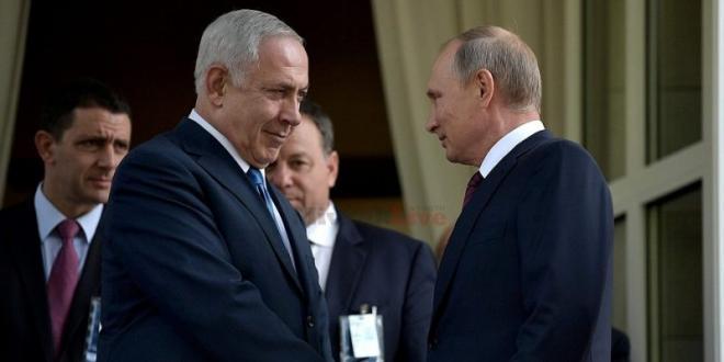 """נתניהו שוחח עם פוטין: """"האחריות להפלת המטוס מוטלת על סוריה"""""""