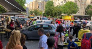 """בן 60 איבד שליטה על רכבו בת""""א ופגע במספר הולכי רגל, בן 6 נפצע בינוני"""