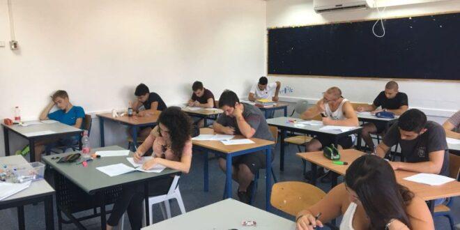 שר החינוך: התלמידים ייבחנו ב- 5 מקצועות חיצוניים בלבד