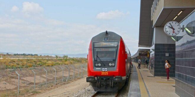 שינויים זמניים בתנועת הרכבות בקו רכבת העמק ביום רביעי