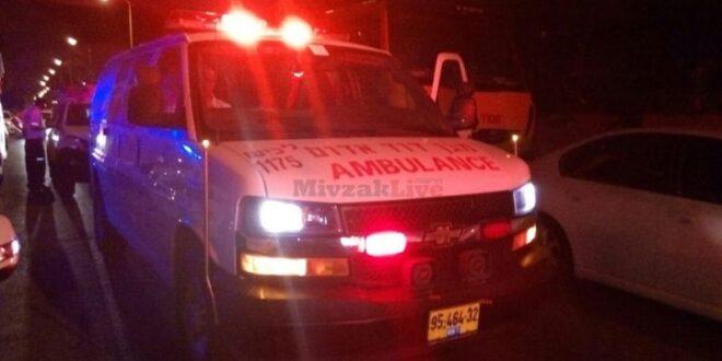 בת 4 שרכבה על קורקינט נפגעה מרכב באשדוד, מצבה בינוני