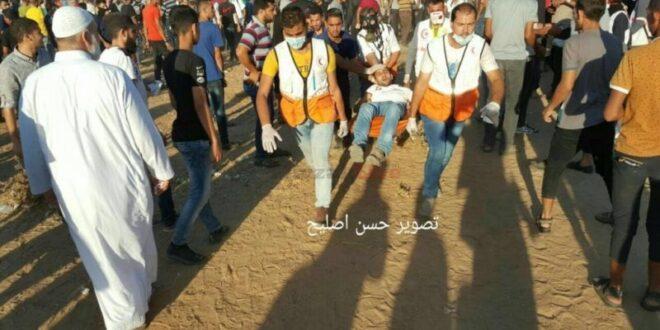 """עימותים בגבול עזה: מחבל נהרג ו-159 נפצעו, לוחם צה""""ל נפצע קל"""