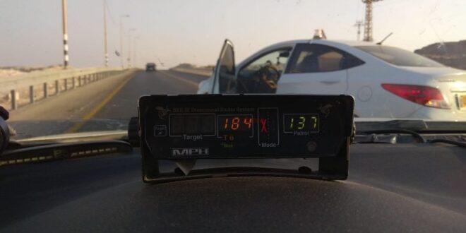 """לא עצר ב- 137 קמ""""ש ויעמוד לדין על נהיגה במהירות 184 קמ""""ש"""