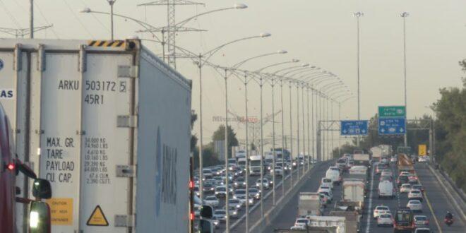 ערב סוכות: מפת עומסי התנועה בכבישים