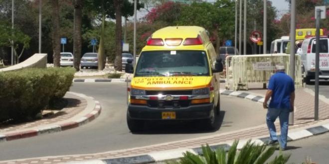 שני נערים נפצעו קשה ובינוני בהתהפכות רכב בכביש 264 בדרום