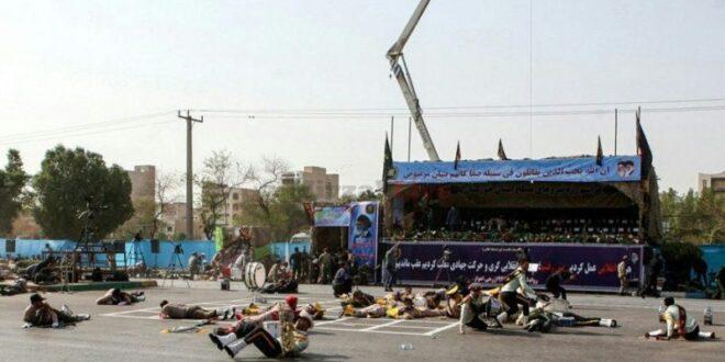 24 הרוגים ועשרות פצועים במתקפת חמושים על מפגן צבאי באיראן
