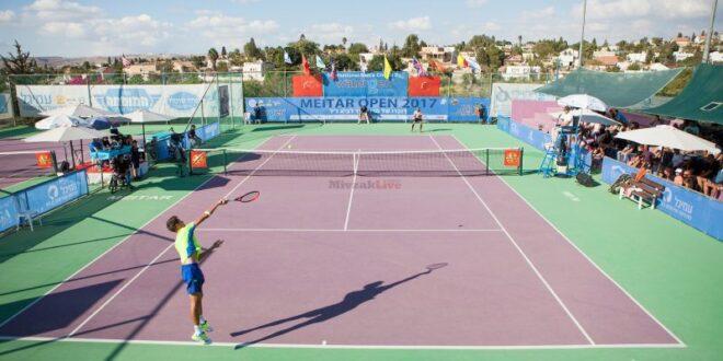 טורניר הטניס הגדול ביותר בישראל יתקיים בשבוע הבא במיתר