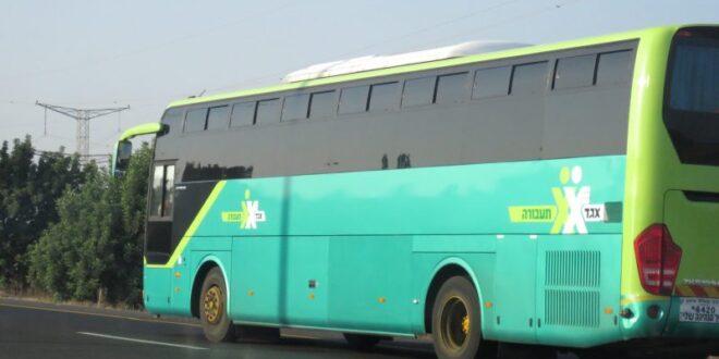 תנועת האוטובוסים מאילת צפונה הופסקה עד להודעה חדשה