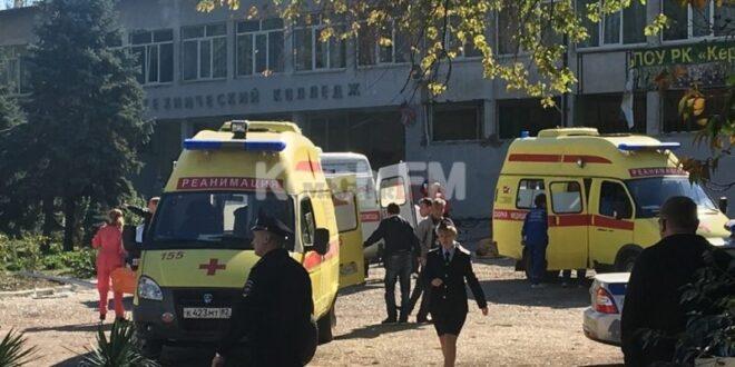 חשד לפיגוע טרור ברוסיה: 10 הרוגים בפיצוץ במכללה בחצי האי קרים