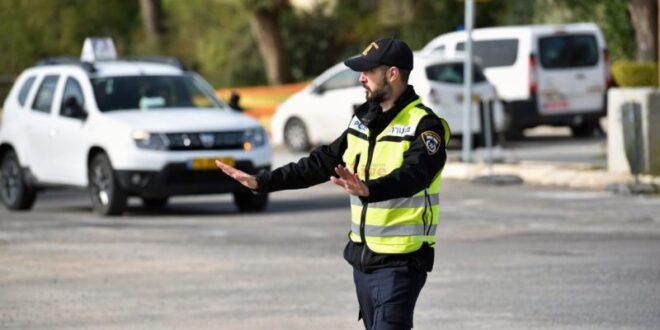 צומת פרדסיה בכביש 4 נחסם בעקבות טיפול בחפץ חשוד