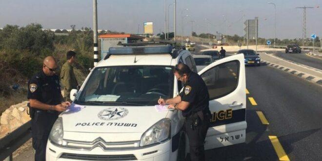 """532 דוחות תנועה נרשמו בכבישי איו""""ש בסוף השבוע האחרון"""