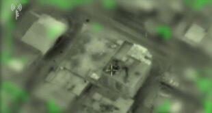 מטוסי קרב תקפו את משרד המודיעין הצבאי של א...