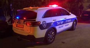 כוחות משטרה הגיעו לזירת נפילה בעיר אשקלון....