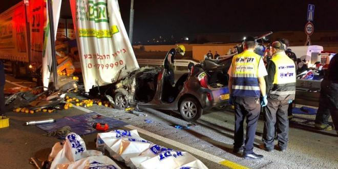 הותר לפרסום: ההרוגים בתאונה הקטלנית בכביש 6 – אנשי קבע