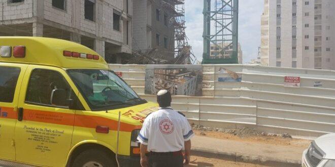 בן 60 נפל מגובה באתר בנייה בכרמיאל, מצבו אנוש