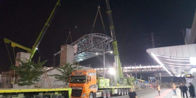 צפו: מרכז התחבורה המתקדם 'מרכזית המפרץ' משתדרג