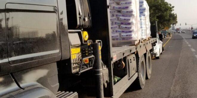 נהג משאית נתפס כשהוא נוהג תחת השפעת סמים