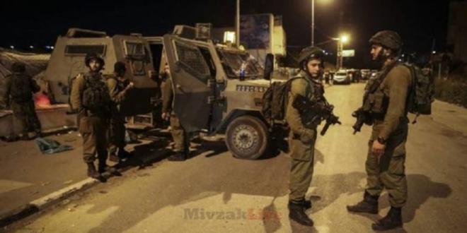 """4 מחבלים נפצעו מירי צה""""ל סמוך לרמאללה, מצבו של אחד מהם אנוש"""