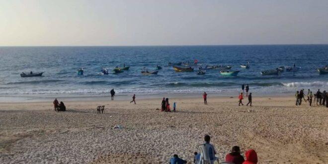 חיל הים ירה לעבר כלי שיט פלסטינים בצפון רצועת עזה
