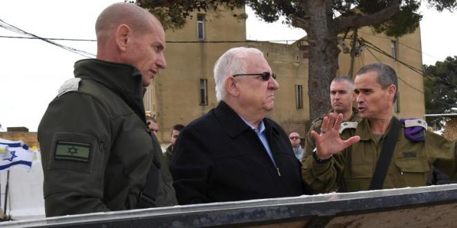 """הנשיא בגבול לבנון: """"חיזבאללה יביא בסופו של דבר לחורבן לבנון"""""""