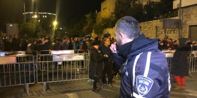 מאות מפגינים מול בית ראש הממשלה על רקע המצב הביטחוני