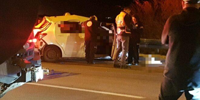 תאונת דרכים קטלנית בכביש 40 סמוך לצומת גורל, בן 27 נהרג