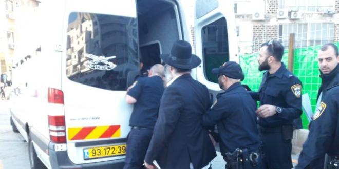 מחאת הפלג הירושלמי בבני ברק: המשטרה עצרה 18 מפגינים