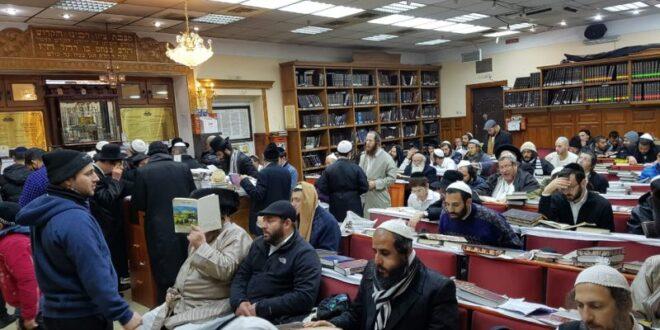 עליה דרסטית: כ-4,000 ישראלים שהו בשבת חנוכה באומן