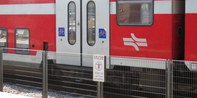 טרקטורון פרץ לשטח מסילת הרכבת סמוך לאשקלון