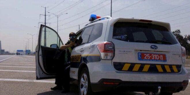 """תושב הדרום בן 50 נתפס נוהג בכביש 90 במהירות 198 קמ""""ש"""