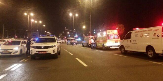 בן 45 נפצע בינוני ואדם נוסף הפצע קל בתאונת דרכים ליד ירושלים