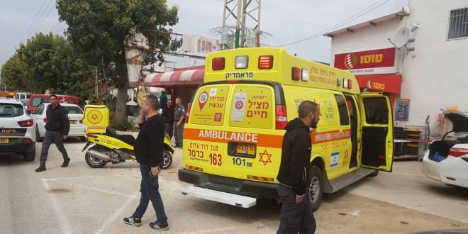 שני גברים נפצעו בינוני מירי בקיוסק בדרך בר יהודה בנשר