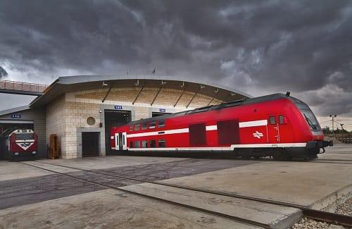 בהנחיית הוועד: כל הרכבות ברחבי הארץ נעצרו למספר דקות