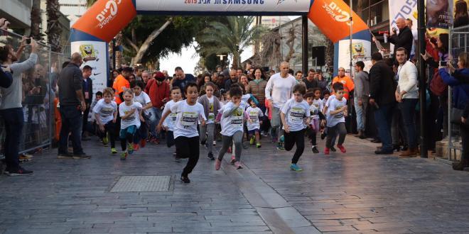 מיני מרתון סמסונג תל אביב הוזנק בהצלחה בהשתתפות אלפי ילדים