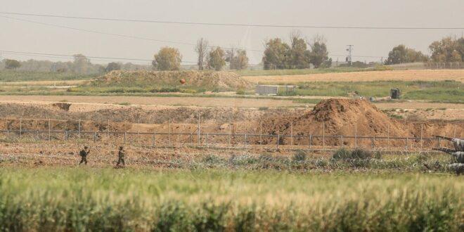 """צה""""ל עצר פלסטיני שחצה את גדר המערכת בצפון רצועת עזה"""