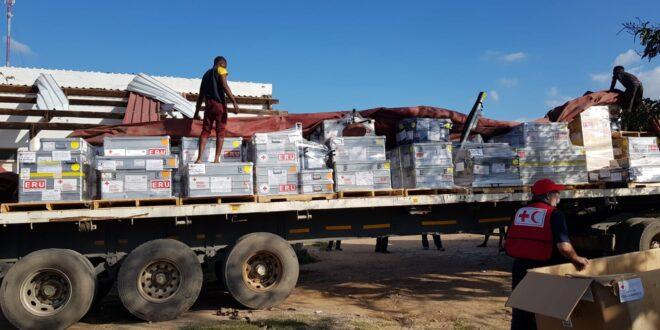 נמשכים המאמצים לסייע לנפגעי סופת הציקלון במוזמביק