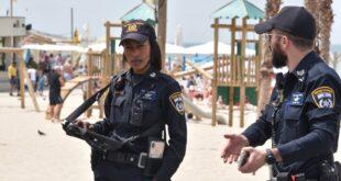 השוטרים שלנו ערוכים למטיילים הרבים שיפקדו ...