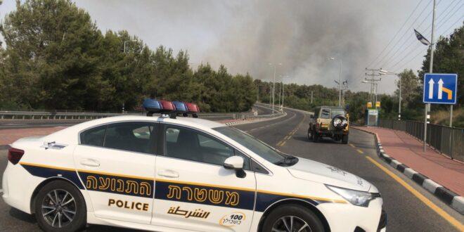 כביש 44 משמשון לצומת נחשון נפתח לתנועה, הכניסה להראל חסומה