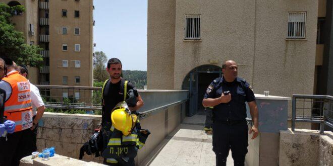 אסון בצפת: פעוט בן 3 נספה בשריפה בבניין, בן 4 במצב בינוני-קשה