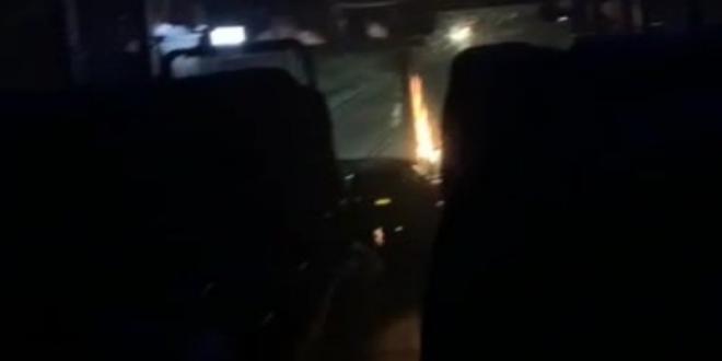 """צפו ברגעי האימה מפיגוע בקת""""ב לעבר אוטובוס הלילה בגוש עציון"""