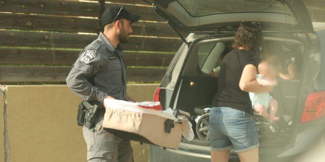בעקבות השריפה: המשטרה מפנה את ישוב תרום שליד בית שמש