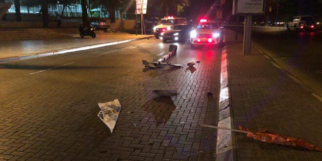 עלה על אי-תנועה, פגע בעמוד, נסע נגד כיוון התנועה ונעצר במדרכה