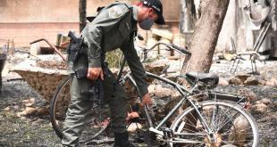 גל השריפות: שוטרי משטרת ישראל, בהם טייסי מ...