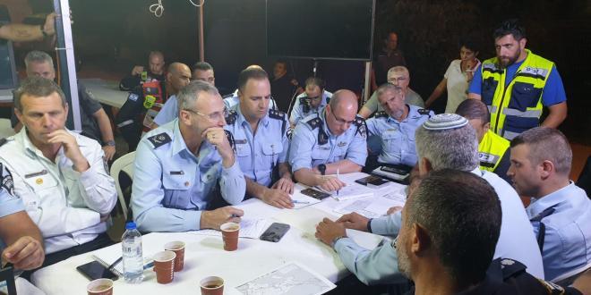 צפו בתיעוד השריפה ממצלמות נתיבי ישראל, כביש 443 יישאר סגור