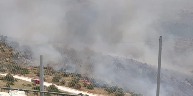 """מסתמן: """"אירועי השריפות לא פרצו כתוצאה ממדורות ל""""ג בעומר"""""""