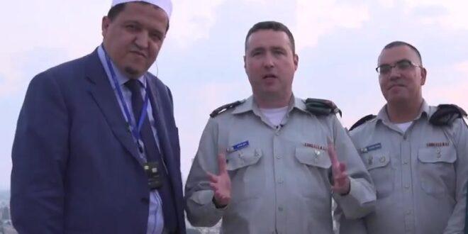 """האימאם המוסלמי שנפגש עם בכירי צה""""ל על גג בניין הקרייה בת""""א"""